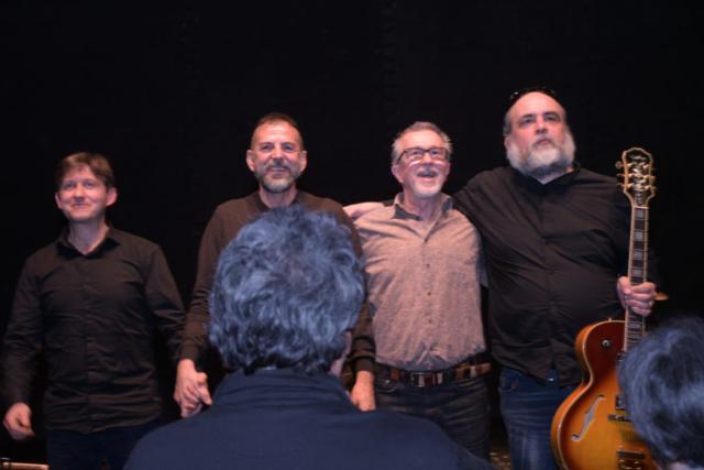 Colazioni in jazz Testro G. Modena Genova